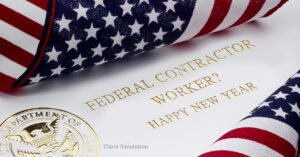 Federal contractor worker? Happy New Year